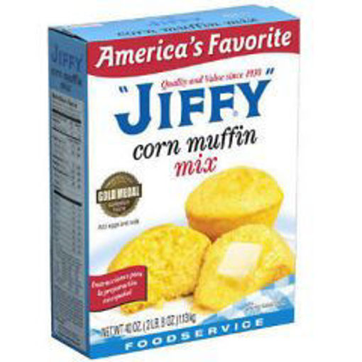 Picture of Jiffy - Corn Muffin Mix - 40 oz 12/case