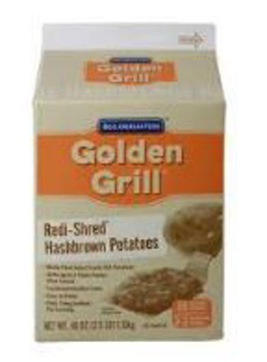 Picture of Golden Grill Redi-Shred - Hashbrown Potatoes - 2.5 lbs 6/case