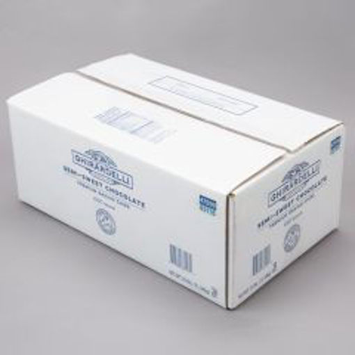 Picture of Ghirardelli - Semisweet Chocolate Chips, 1000 ct - 25 lbs