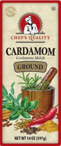 Picture of Chefs Quality - Ground Cardamom - 14 oz Jar 12/case
