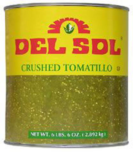 Picture of Del Sol - Crushed Tomatilllos - #10 Can 6/case