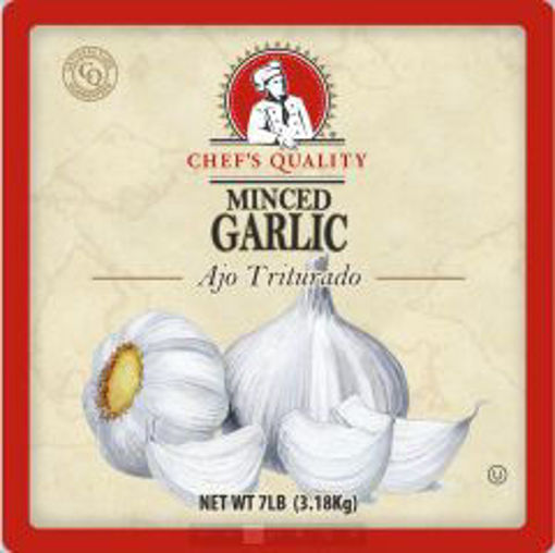 Picture of Chefs Quality - Minced Garlic - 7 lb Jar 4/case