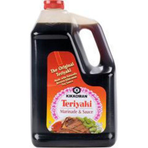 Picture of Kikkoman - Teriyaki, Marinade and Sauce - 1 gallon. 4/case