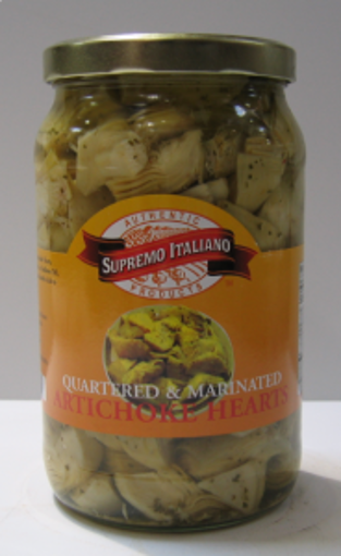 Picture of Supremo Italiano - Marinated Artichokes - 68 oz Can 6/case
