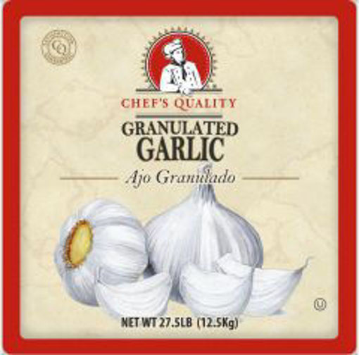 Picture of Chefs Quality - Granulated Garlic - 27.5 lbs
