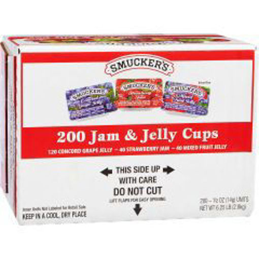 Picture of Smuckers - Assorted Jelly #12 - 200/0.5 oz