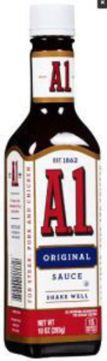 Picture of Kraft - A1 Steak Sauce - 10 oz bottles, 12/case