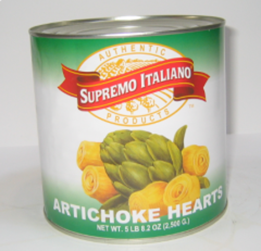 Picture of Supremo Italiano - Whole Artichoke Hearts - 3 kg, 6/case