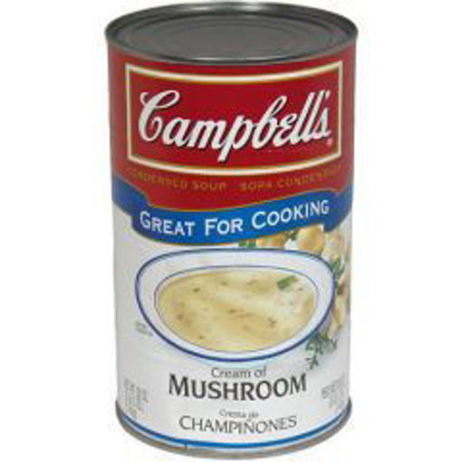 Picture of Campbells - Cream of Mushroom Soup - 50 oz, 12/case