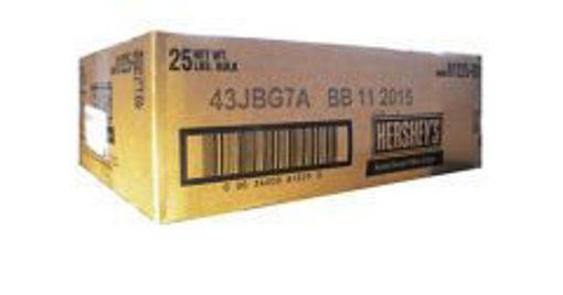 Picture of Hersheys Semi Sweet Mini Chocolate Chips - 25 lbs