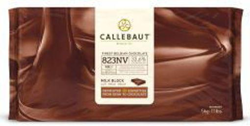 Picture of Callebaut - 823 Milk Chocolate - 11 lbs Block