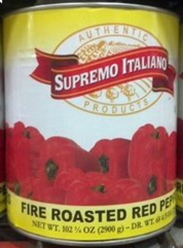 Picture of Supremo Italiano - Roasted Red Peppers - #10 cans, 6/case