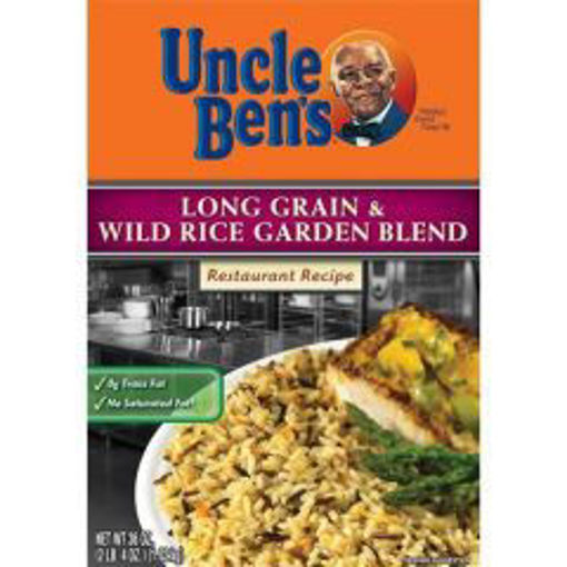 Picture of Uncle Bens - Long Grain & Wild Rice - 36 oz. Box, 6/case