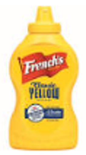 Picture of Frenchs - Yellow Squeeze Mustard - 12 oz, 12/case