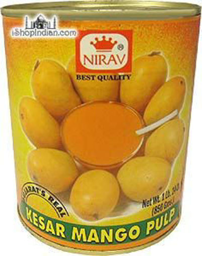 Picture of Nirav - Kesar Mango Pulp - 30 oz Can, 6/case