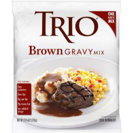 Picture of Trio - Brown Gravy Mix - 8/13 oz Packet