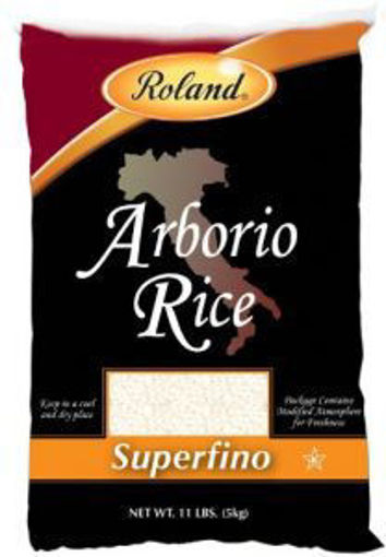 Picture of Roland - Arborio Rice - 11 lbs, 4/case