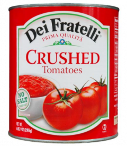 Picture of Dei Fratelli- Crushed Tomatoes - #10 cans, 6/case