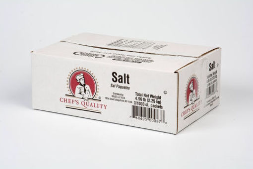 Picture of Chefs Quality - Salt Packets - 3000 ct