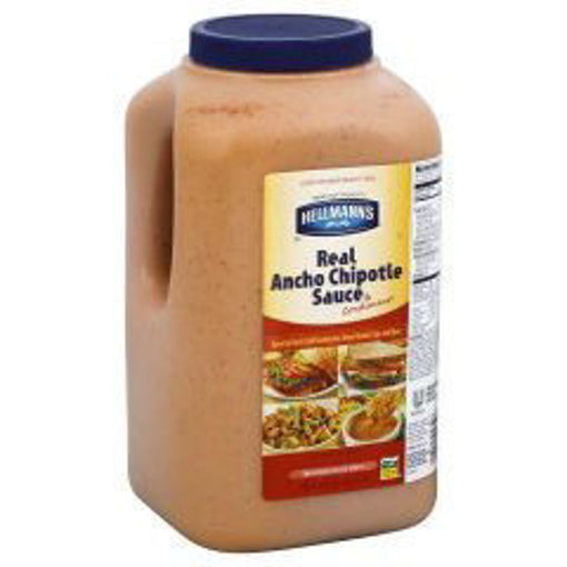 Picture of Hellmans Ancho Chipotle Sauce - 1 gallon, 4/case