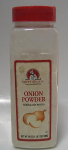 Picture of Chefs Quality - Onion Powder - 19 oz Jar, 12/case