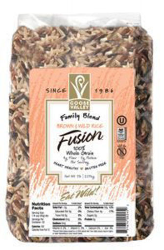 Picture of Goose Valley - Brown & Wild Rice Fusion - 5 lb Bag, 4/case