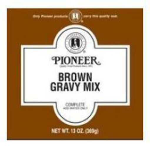 Picture of Pioneer - Brown Gravy Mix - 13 oz, 6/case
