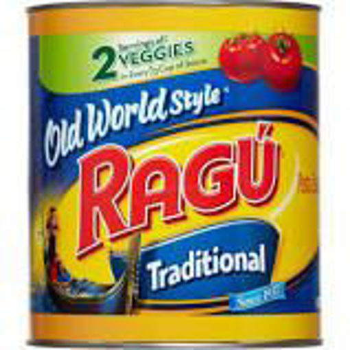 Picture of Ragu - Spaghetti Sauce - #10 cans, 6/case