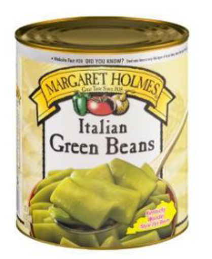 Picture of Margaret Holmes Italian Green Beans - #10 can, 6/case