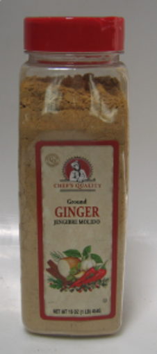 Picture of Chefs Quality - Ground Ginger - 1 lb Jar, 12/case