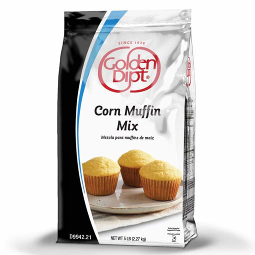 Picture of Golden Dipt - Corn Muffin Mix - 5 lbs, 6/case
