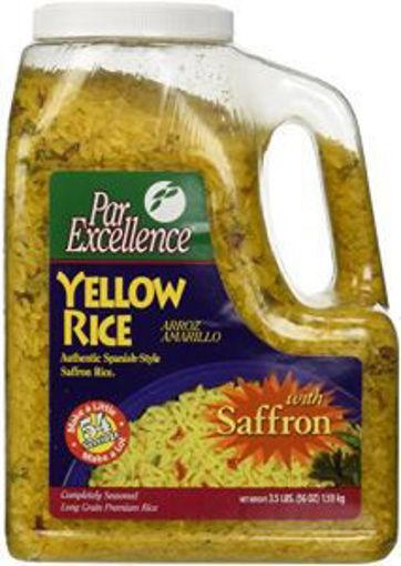 Picture of Par Excellence - Yellow Rice - 3.5 lb Bag, 6/case