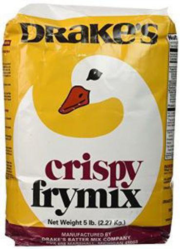 Picture of Drakes - Crispy Batter Fry Mix - 5 lb case, 10/case