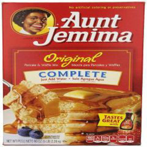 Picture of Aunt Jemima - Deluxe Complete Pancake Mix - 5 lbs, 6/case