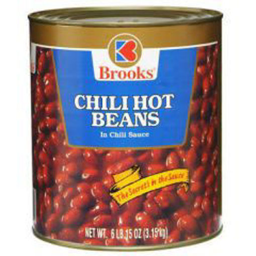 Picture of Brooks - Hot Chili Beans - #10 cans, 6/case