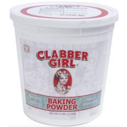 Picture of Clabber Girl - Baking Powder - 5 lbs, 6/case