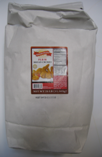 Picture of Supremo Italiano - Plain Bread Crumbs - 25 lbs