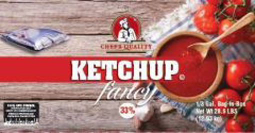 Picture of Chefs Quality - Ketchup BIB - 3 gallon