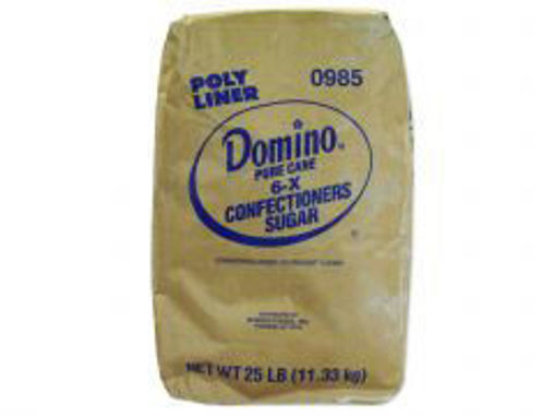 Picture of Domino 6x Powdered Sugar - 25 lbs