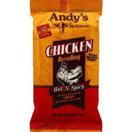 Picture of Andys - Hot & Spicy Chicken Breading - 5 lbs, 6/case