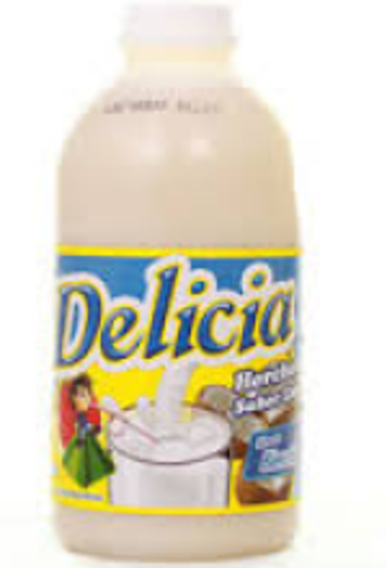 Picture of Delicia - Horchata Drink Concentrate - 32 oz, 12/case