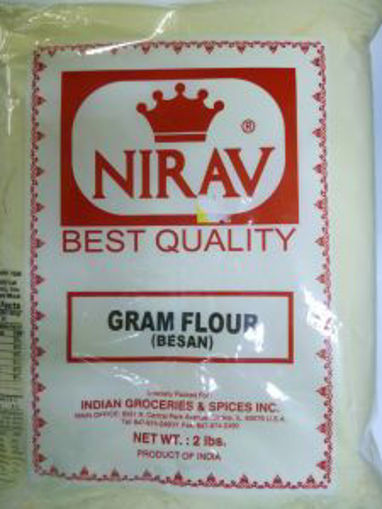 Picture of Nirav - Besan Flour - 4lb Bag, 8/case