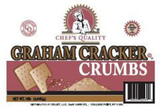 Picture of Chefs Quality - Graham Cracker Crumbs - 10 lbs