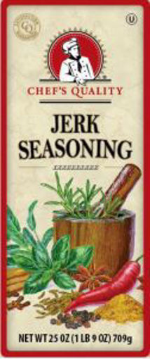 Picture of Chefs Quality - Jerk Seasoning - 25 oz, 12/case