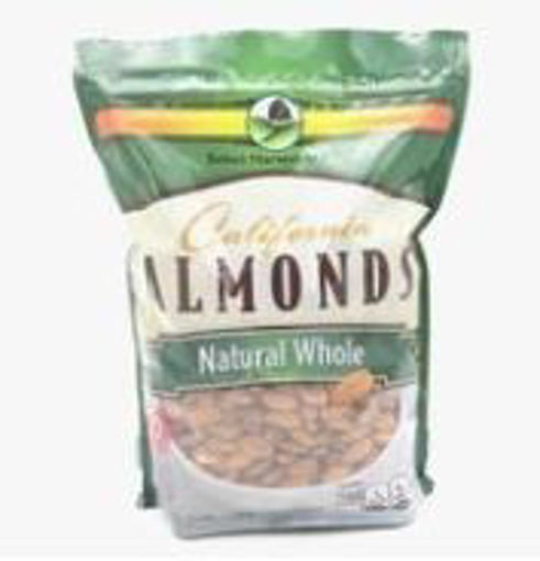 Picture of Select Harvest - Natural Whole Almonds - 3 lbs, 9/case