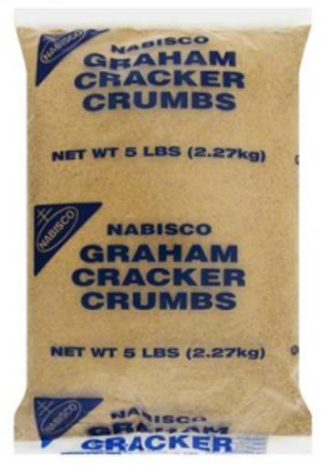 Picture of Nabisco - Graham Cracker Crumbs - 5 lbs, 2/case