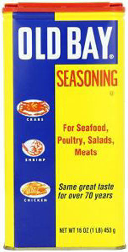 Picture of Old Bay- Seasoning- 1 lb Jar, 12/case