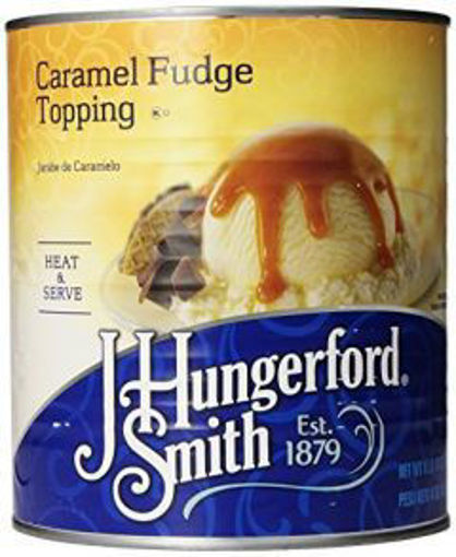 Picture of J. Hungerford Smith - Caramel Fudge Topping - #10 Can, 6/case