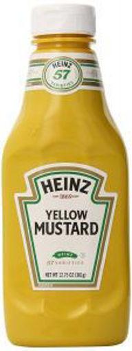 Picture of Heinz - Yellow Mustard - 16/12.75 oz Bottle