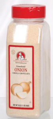 Picture of Chefs Quality - Granulated Onion - 16 oz Jar, 12/case